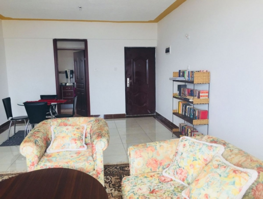 Bright apartment on the 8th floor with fantastic views of the city, Nairobi -  Kenya