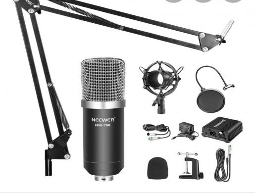 Neewer professional condenser Microphone, Nairobi -  Kenya
