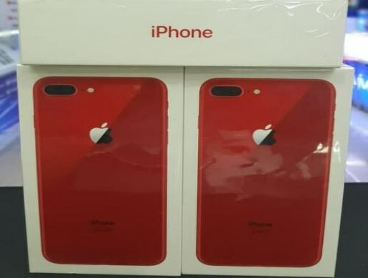 NEW APPLE iPhone 8 PLUS PRODUCT RED - 256GB FACTORY WORLDWIDE UNLOCKED, Arusha - Tanzania