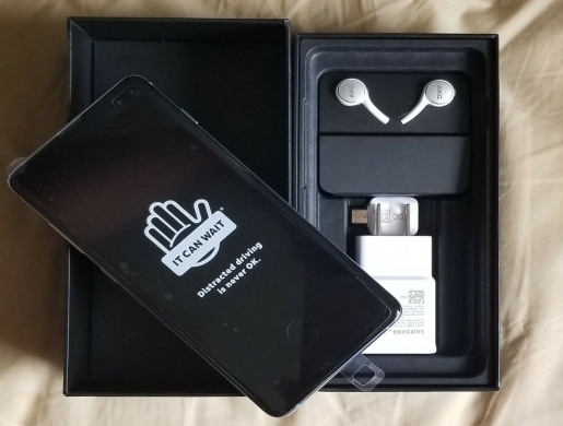 Samsung Galaxy S10+ Plus 128GB 512GB Dual SIM Unlocked All Network Smartphones, Morogoro - Tanzania