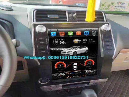 TOYOTA Land Cruiser 14-18 vertical Tesla Android radio GPS navigation, Nairobi -  Kenya