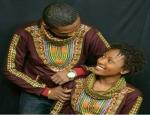 African prints hoodies