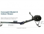 Brand new concept 2 rowing machine model D with PM5
