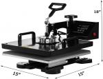 Hihone 5 in 1 Heat Press Machine