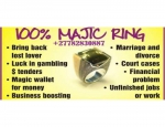 Magic Ring For Attraction Fame Business Boosting & Protection In Westonaria Call +27782830887 South Africa