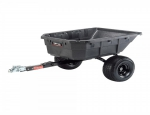 Ohio Steel 12.5 CF Poly Swivel ATV Dump Cart