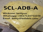 potent Synthetic Cannabinoid 5cl-adb-a yellow powder sold as cannabis substitutes Wickr:bettyuu