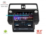TOYOTA Land Cruiser 14-18 vertical Tesla Android radio GPS navigation