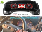 Toyota Land Cruiser Prado J150 LC150 Car Dashboard Display GPS Navigation