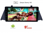 Zotye Domy X5 Car radio Video android GPS navigation camera